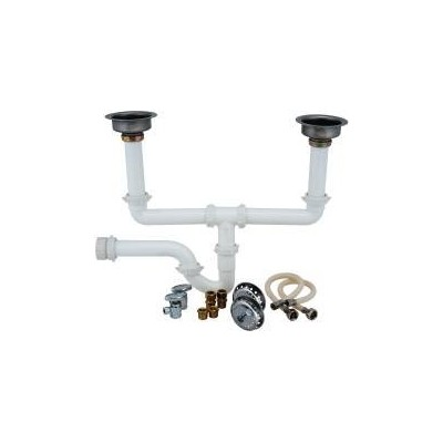National Brand Alternative 172131 Garbage Disposal Installation Kit, Double Bowl by National Brand...
