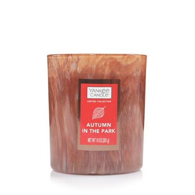 Yankee Candle Autumn In The Park Special Editionタンブラーキャンドル、Fresh Scent
