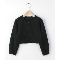 【3can4on(Kids)(サンカンシオン(キッズ))】 ボレロジャケット OUTLET > アウター > その他 ブラック
