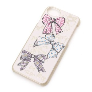 【passage mignon(パサージュ ミニョン)】 リボン柄iPhoneケース(iPhone8/7/6s) OUTLET > 生活雑貨 > スマホケース ピンク系