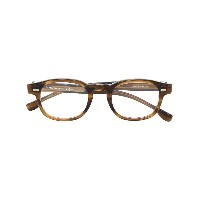 Boss Hugo Boss tortoiseshell-effect square glasses - ブラウン