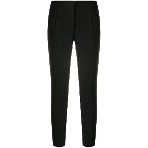 Blanca cropped trousers - ブラック