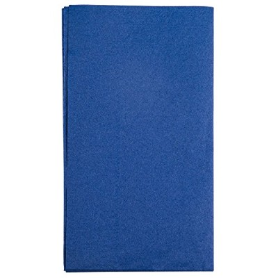 "Hoffmaster 180522 Navyブルー15 "" x 17 "" Paper Dinner Napkins 2-ply – 125 /パック"