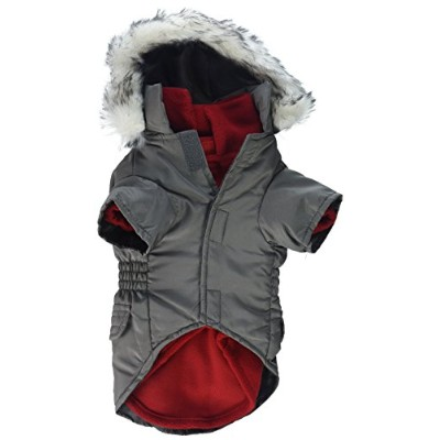 East Side Collection ZM6095 12 11 3-in-1 Eskimo Jacket S Gry