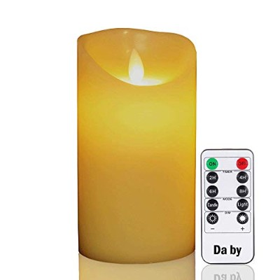 (1) - Flameless Candles.Da by 15cm Realistic Dancing LED Flickering Wick for Parties,Home,Public...