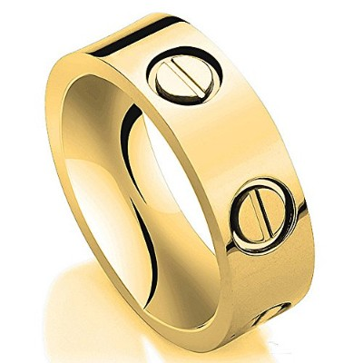 jogray Love ring-gold Lifetime Just Love You 6 mmの幅