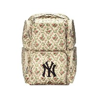 Gucci Large backpack with NY Yankees™ patch - ヌード&ナチュラル
