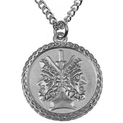 Janus 2-sided Coin Pendant