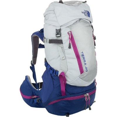 (取寄)ノースフェイス レディース テラ 40L バックパック The North Face Women Terra 40L Backpack High Rise Grey/Sodalite Blue