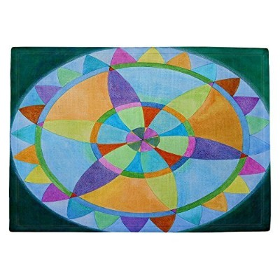 DIANOCHEキッチンPlaceマットby Jennifer Baird – Mandala I A Set of 4 Placemats PM-JenniferBairdMandalaIA2