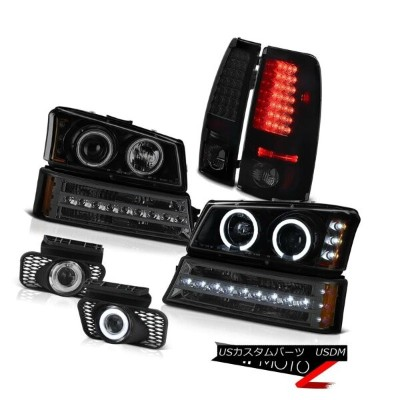 ヘッドライト 2003-2006 Silverado 1500 Fog lamps rear brake bumper lamp projector Headlamps 2003-2006...