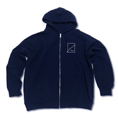 RHC Ron Herman (ロンハーマン): NUMBERS×RHC Ron Herman コラボパーカー Zip Up Hoody ブラック