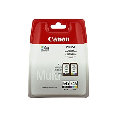 CANON PG545 BLACK CL546 CLEAR MULTIPACK