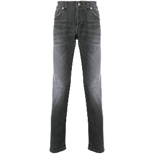 Dondup faded slim fit jeans - グレー