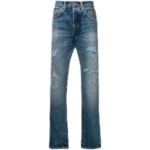 Edwin ED-55 tapered jeans - ブルー