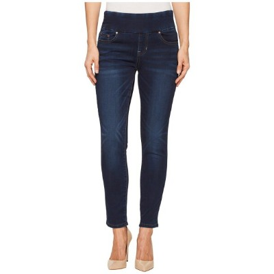 ジャグジーンズ レディース デニムパンツ ボトムス Nora Skinny Ankle Pull-On Jeans in Vintage Classic Denim Blue Ridge