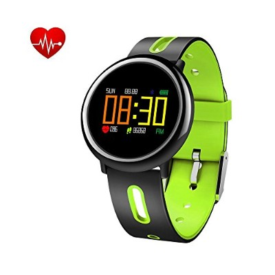フィットネス防水Activity Tracker Watch、Smart Watch with Heart Rate Monitor血圧Sleep MonitorステップカウンタBluetoothの防...