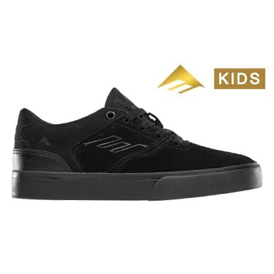 【Emerica】REYNOLDS LOW VULC YOUTH  Andrew Reynolds Signature Model カラー:black/black/black【エメリカ】...