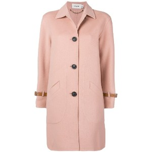 Coach single breasted coat - ピンク