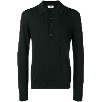 Cmmn Swdn knitted polo - ブラック