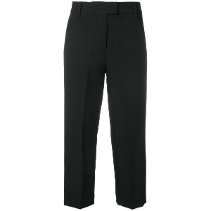 Dondup cropped trousers - ブラック