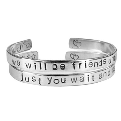 Personalized Winnie the Pooh quoteブレスレット – Friendship Bracelets – We Will Be Friends Foreverまで、Just...