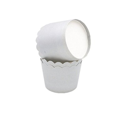(120, Light Grey) - Lesirit Solid colour Paper Baking Cups, Standard Size Cupcake for baking (120,...