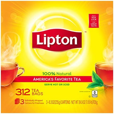 Lipton Black Tea, 312 ct