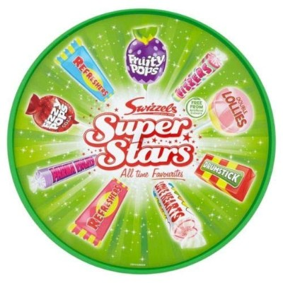 Swizzels Super Stars Variety Mix 630g Selection Tub/Box Gift Pack Christmas