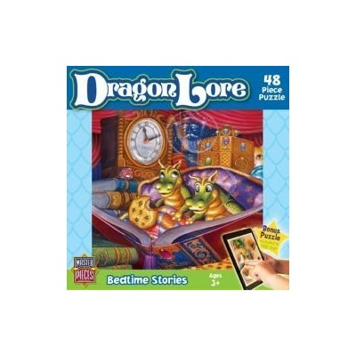 MasterPieces Puzzle Company Dragon Lore Bedtime Stories Value Jigsaw Puzzle (48-Piece), Art by...