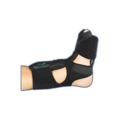 Med Spec Phantom Dorsal Night Splint, Black, Medium by Medspec/ASO Braces