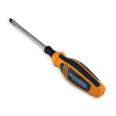 Olympia Tools 22-524 1/4 by 4-Inch Olympia Gold Series Mechanic-Feet S Screwdriver, Slotted by...