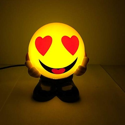 (Redheart) - Emoji Laughing Face USB Charging Warm Night Lights Bed Lamps