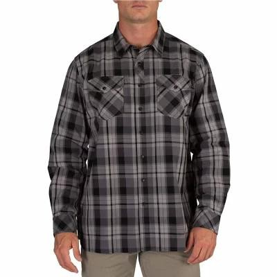 5.11 タクティカル 5.11 Tactical シャツ Peak Long Sleeve Button Down Shirt Flint Plaid