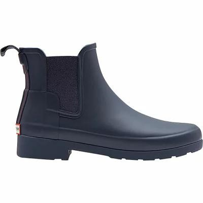 ハンター Hunter レインシューズ・長靴 Original Refined Chelsea Matte Rain Boot Navy