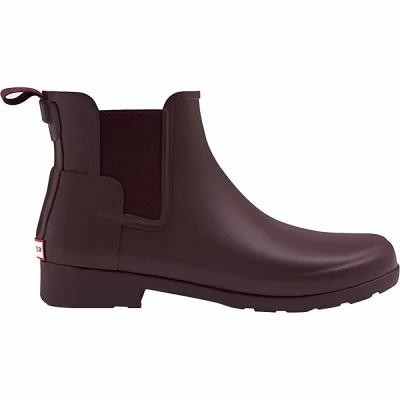 ハンター Hunter レインシューズ・長靴 Original Refined Chelsea Matte Rain Boot Oxblood