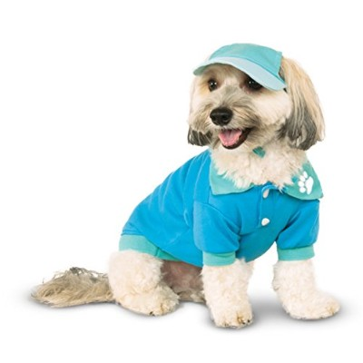 Blue Polo Shirt for Pet, Small