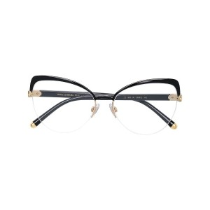 Dolce & Gabbana Eyewear cat eye shaped glasses - ブラック