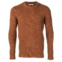 Nuur ribbed knit sweater - ブラウン