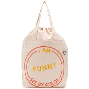 See By Chloé I Am Funny トートバッグ - ニュートラル