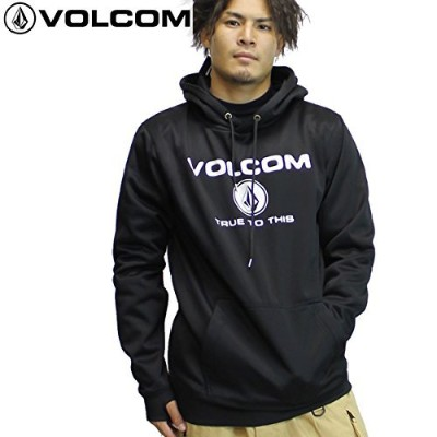 VOLCOM 撥水パーカー BR REPELLENCY PULLOVER g24518jb: BLK M
