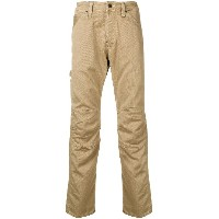 G-Star Raw Research straight-leg trousers - ブラウン