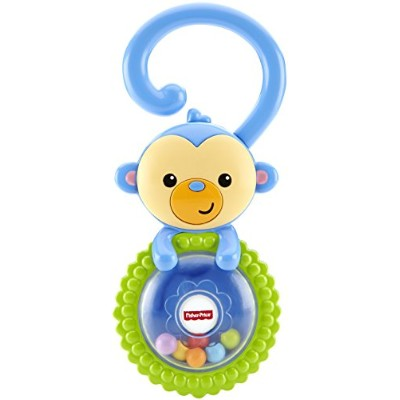 Fisher Price Rattle Teether Ape