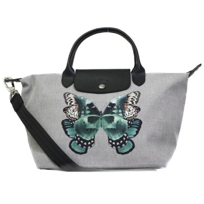 LONGCHAMP(ロンシャン) 2WAYトートバッグ『Le Pliage Neo /ル プリアージュ ネオ』 (BUTTERFLY/バタフライ)1512-670-D25-BUTTERFLY...