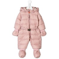 Save The Duck Kids hooded snowsuit - ピンク