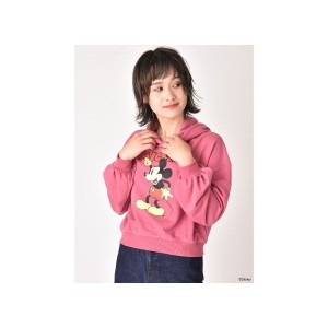 【SALE 51%OFF】CECIL McBEE ショートパーカー/Disney collection(ピンク)【返品不可商品】