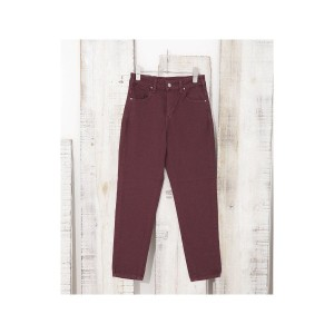【SALE 50%OFF】nano・universe Lee/JEGGINGS ANKLE TAPERED(ボルドー)【返品不可商品】