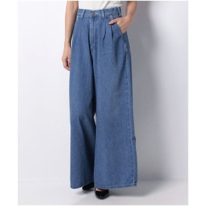 【SALE 40%OFF】actuelselect 【Lee】WIDE PANTS(ブルー)【返品不可商品】