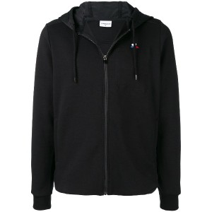 Le Coq Sportif loose fitted hoodie - ブラック
