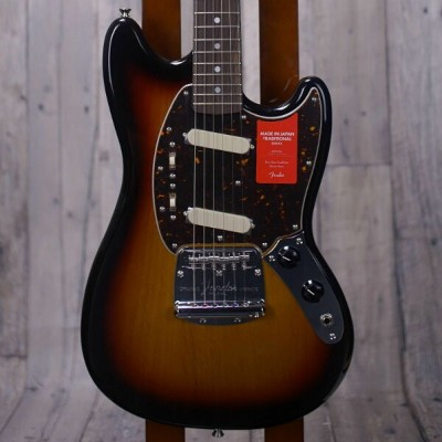 Fender Made in Japan Traditional '70s Mustang -Sapphire Blue Transparent- 【店頭展示品特価】【新品】【おちゃのみず楽器在庫品】